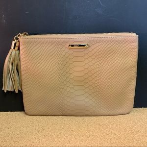 GiGi Tan leather Clutch